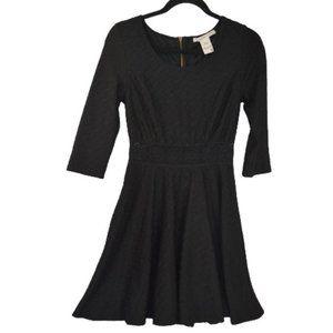 American Rag Cie Crochet Waist Skater Dress M